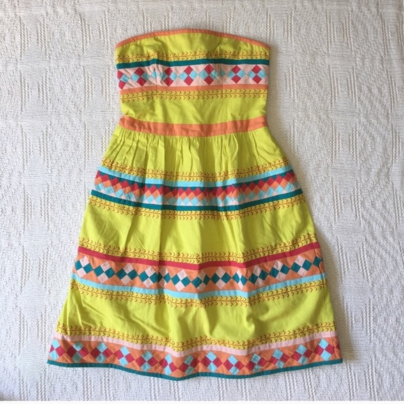 Anthropologie Dresses & Skirts - Anthropologie embroidered dress